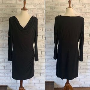 NWOT Cache Black Spandex Stretch Dress